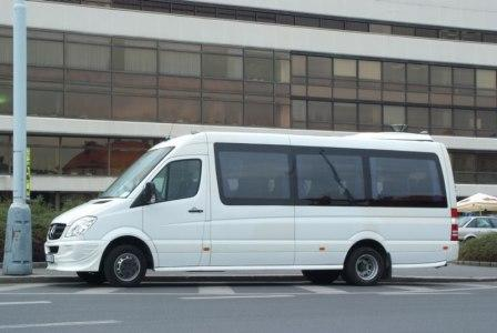 Bus rental Bremen, Germany Mercedes Benz Sprinter Lux TOP Business class